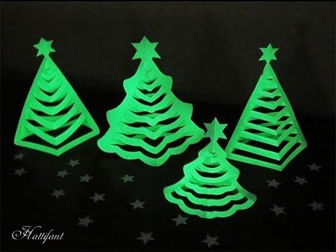 Hattifant's 3D Paper Christmas Trees | Hattifant