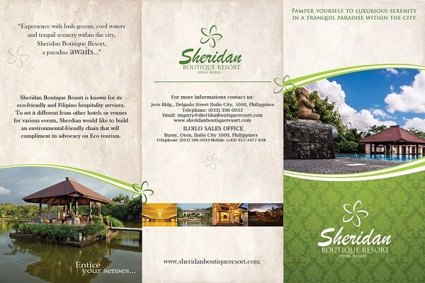 Hotels & Resorts Brochure Designs Brochure Designs Pinterest