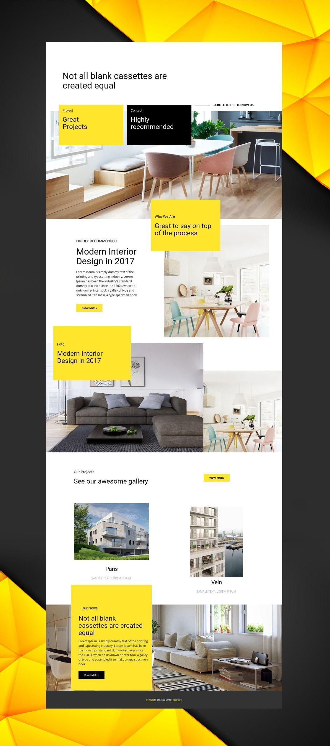 how to make interior design online website