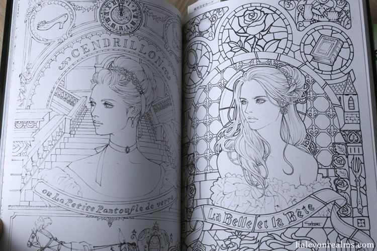 Takumi Art Coloring Book Review Halcyon Realms Art Book Reviews Anime Manga Film Photography Colorful Drawings Coloring Books Book Art