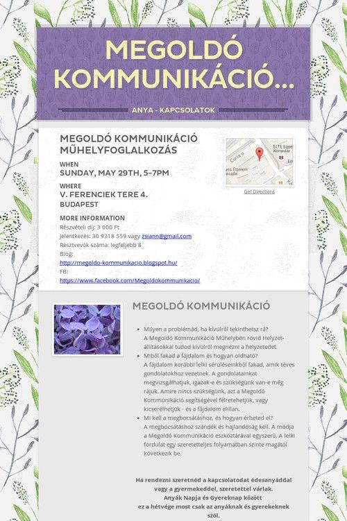 Help spread the word about Megoldó Kommunikáció…. Please share! :)