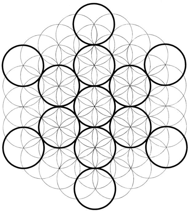 Flower of life live life to the full well the last posts have been circular in
