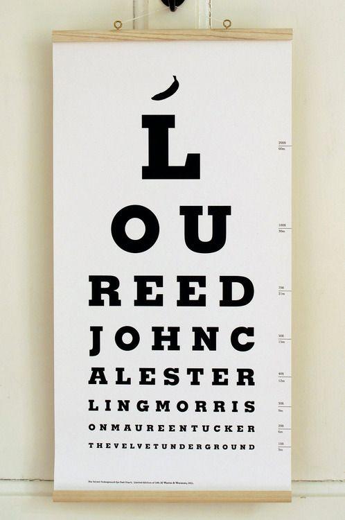 Velvet Underground Eye Test