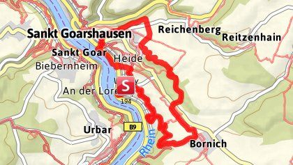 Loreley Extratour Reisen Deutschland Reisen Naturschutzgebiet