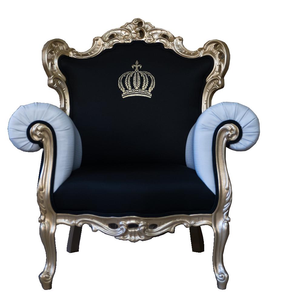 Weiss Gold Pompooser Barock Sessel Designed By Harald Gloockler Harald Gloockler Shop Harald Gloockler Mobel Harald Gloockler Sessel Barock Sessel Sessel Schwarz Barock