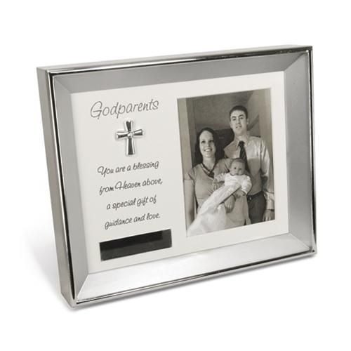 Godparents 3.5x5 Photo Frame with Engravable Plate | Gifts for ...