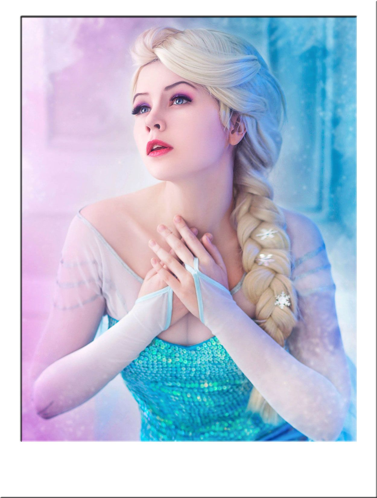 Elsa Frozen Costume Wig. Luxury Wig Ideal For Disneyu0027s Elsa Outfits  Requiring An Authentic Look. The White Blonde Plaited Hair Features A Full,  ...