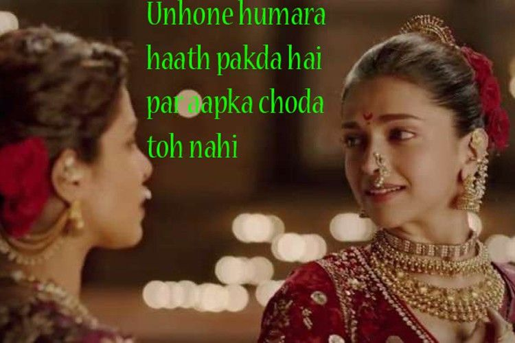 17 Dialogues From Deepika Padukone Ranveer Singh S Bajirao Mastani That Will Be Remembered For Generations To Come Bollywood Quotes Famous Dialogues Mastani