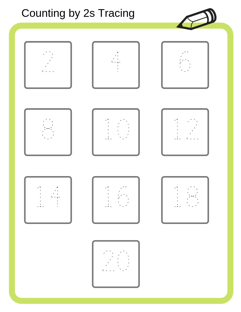 Free Math Printables! Counting by 2s, 5s, and 10s ...