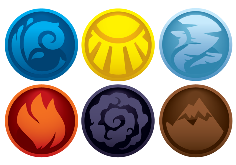 Element symbols by VPK Element symbols, Symbols