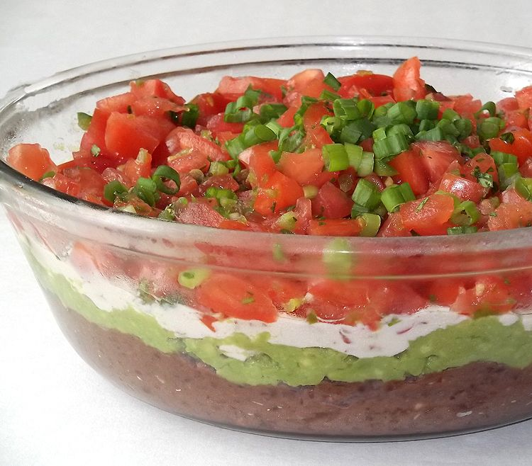 Lighter Seven-Layer Dip from America's Test Kitchen via The Mom Chef