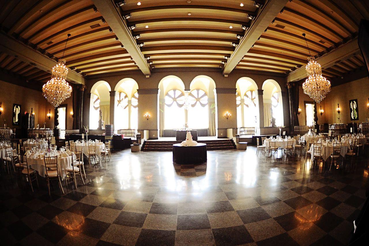Buffalo Wedding Venues Reception Locations In NY Statler Tower Terrace Ballroom