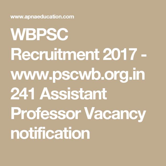 WBPSC Recruitment 2017 - www.pscwb.org.in 241 istant Professor ... on pune metro, hyderabad metro, kochi metro, rams 2012 metro, lucknow metro, beijing metro, bangalore metro,