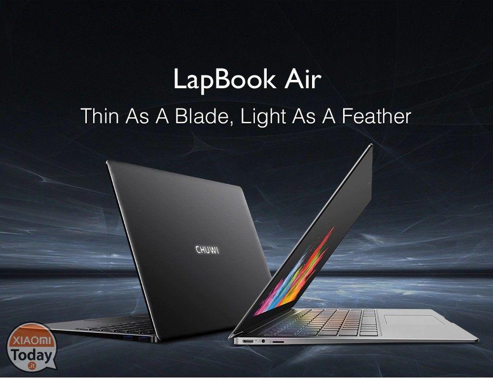 9b80d82d6415fd Portatevi a casa il sottilissimo lapbook air Chuwi con garanzia Europa  dalla durata di due anni ad un prezzo speciale, grazie al nostro coupon!