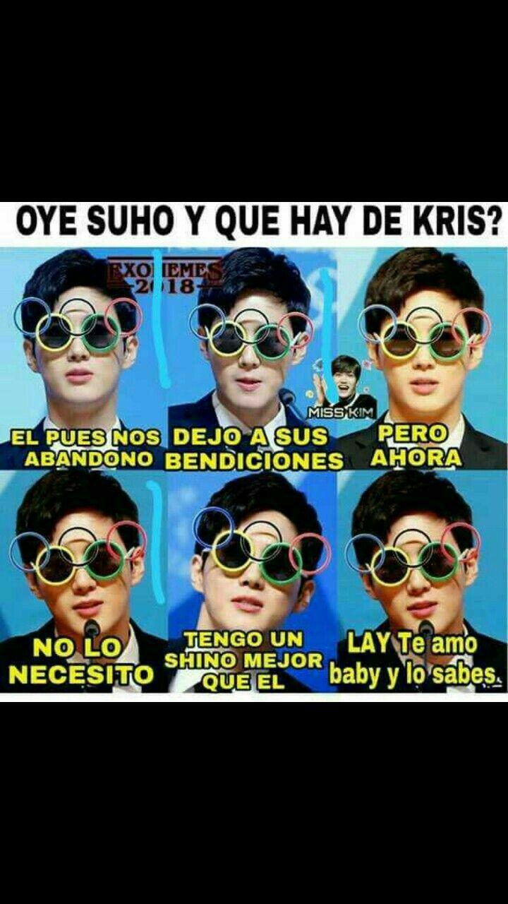 Pin de SorayaPark en EXO Memes kpop, Memes coreanos, Memes