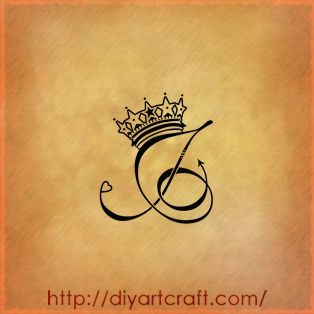 letter with a crown tattoo   Google Search | Tattoo idea's