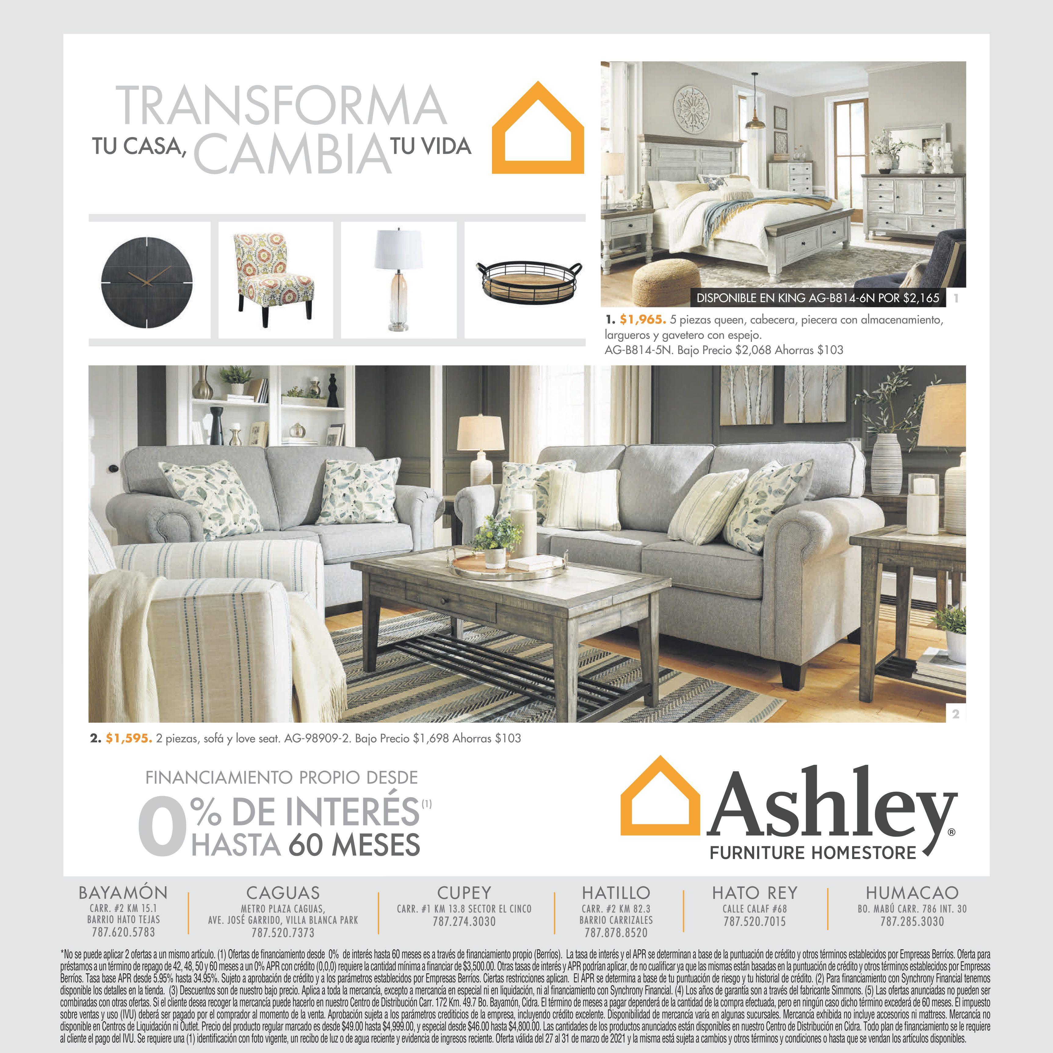 Los Espacios De Tu Hogar Influyen En Tus Emociones Y Pensamientos Es Tiempo De Transformarlos In 2021 Ashley Furniture Homestore Furniture Homestore Furniture