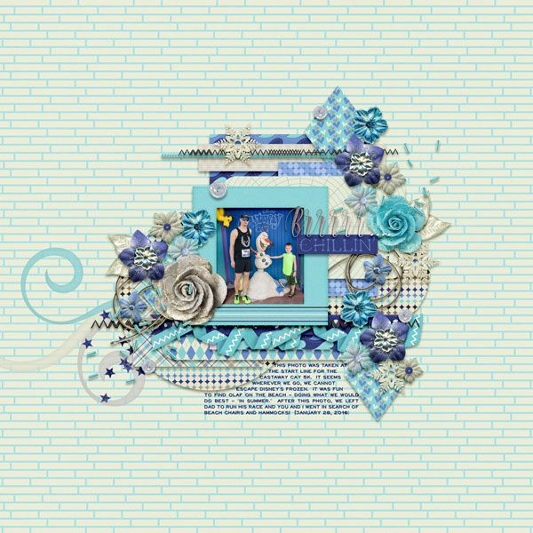 Template: Two Tiny Turtles - Too Good to Be True  Kit: Meagan's Creations - Zoobilee - Arctic Collection