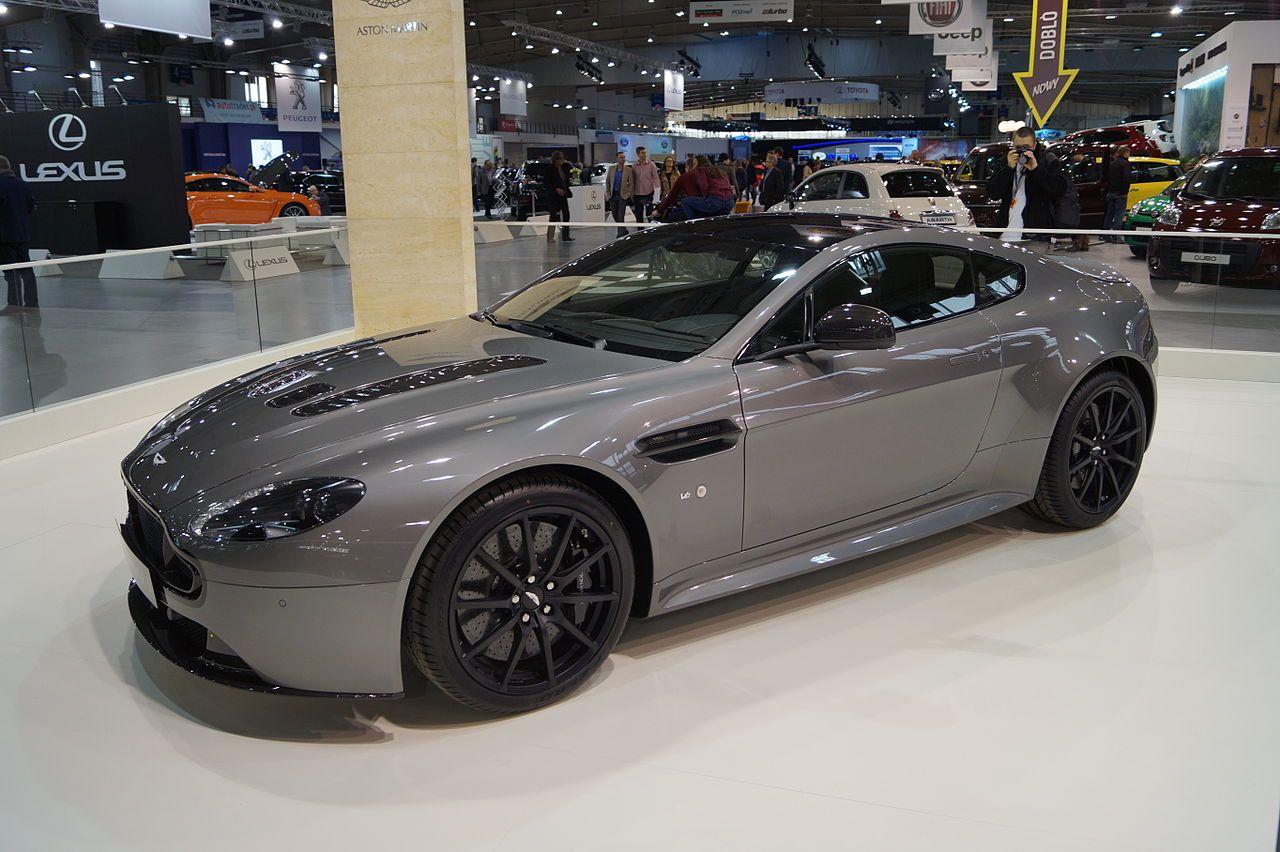 Aston Martin V12 Vantage S przód (MSP15) Aston Martin