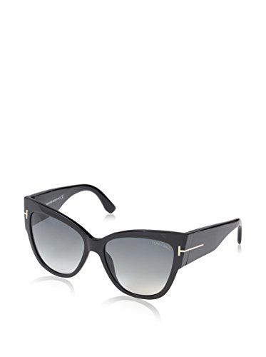 76cc9263482b3 Tom Ford Anoushka FT037101BSunglasses shiny black gradient smoke 57mm      Learn more by visiting