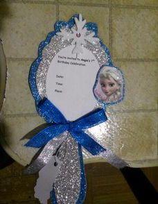 Invitacion De Cumpleanos Frozen Para Imprimir Cumpleaños