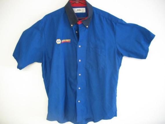 Men's Cintas Napa Auto Parts Uniform Work Shirt XL-SS | Mayo Family