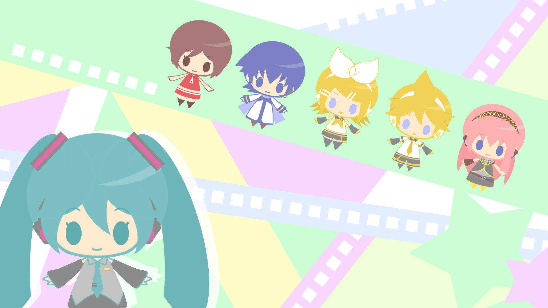 chibi vocaloid wallpaper
