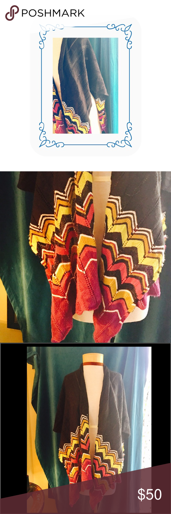 ⚜️Missoni by Target wrap⚜️ ⚜️Magnificent Missoni shawl/wrap for Target & now for you in classic colors & the noted Italian line's luminous design⚜️ Missoni Accessories Scarves & Wraps