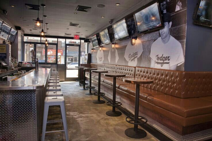 Sports bar Sports bar decor, Sport bar design, Home bar