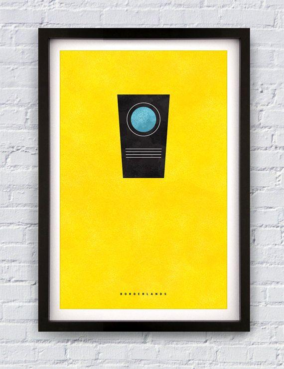 Borderlands inspired print 11X17 by Pixology on Etsy, $20 00