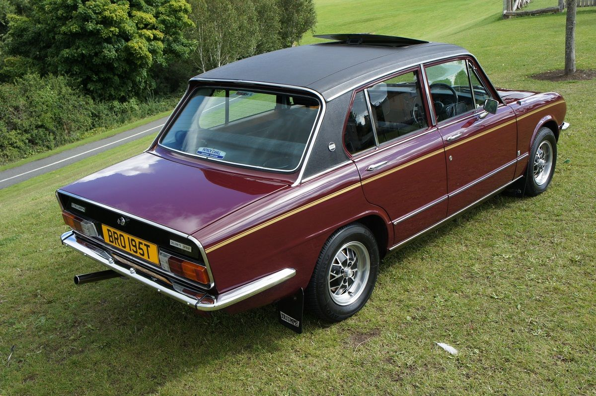 Triumph dolomite Sprint 1978 to be auctioned Friday 30th October ...