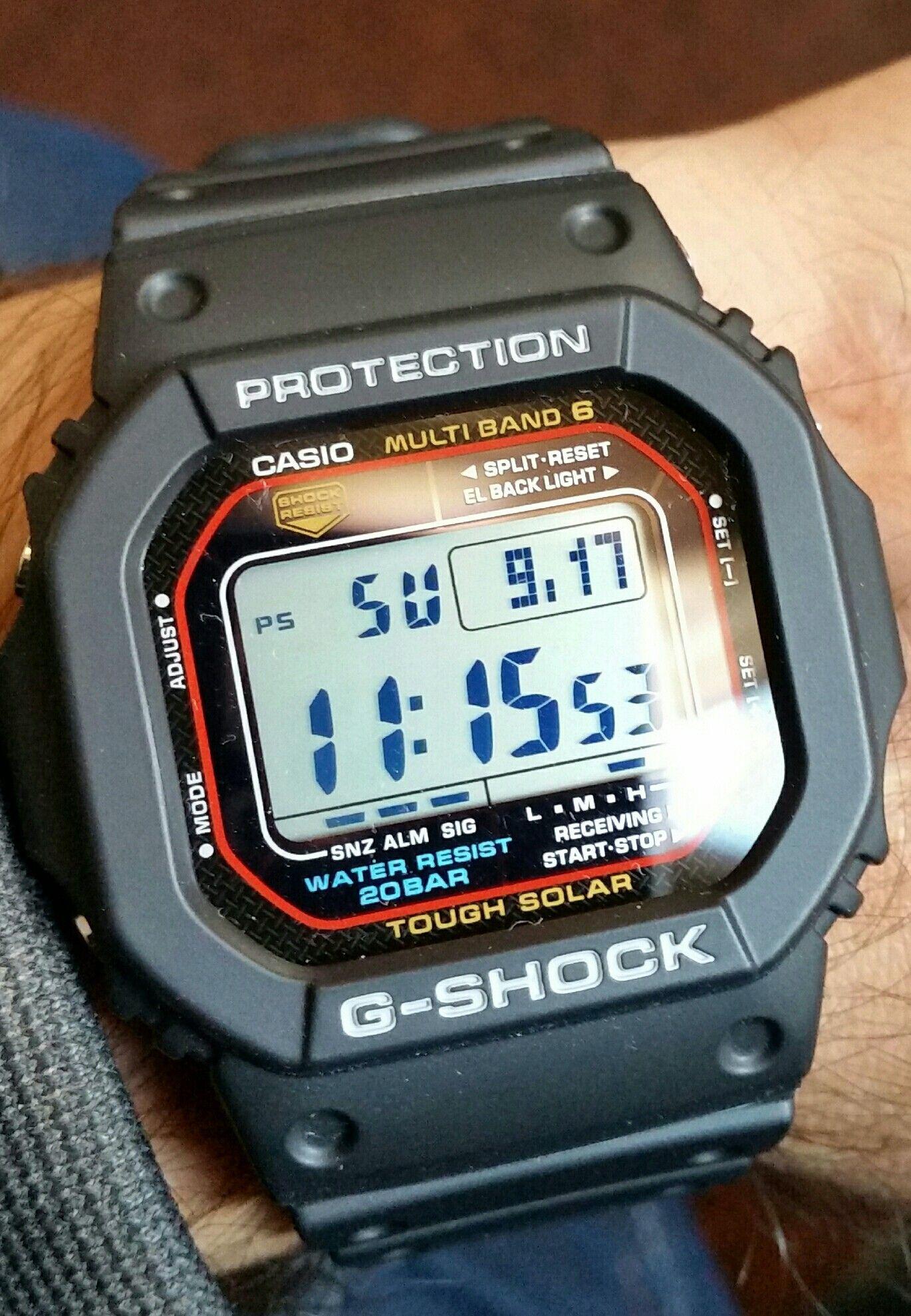 f1d3537ca8f Casio GSHOCK gw-m5610-1 multiband 6 solar watch