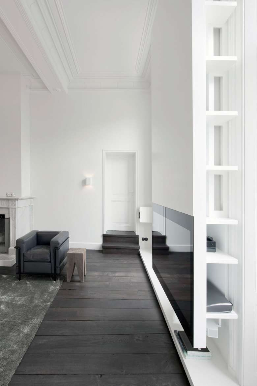 Arredamento Pavimento Scuro arredare casa con pavimento scuro   architettura di interni