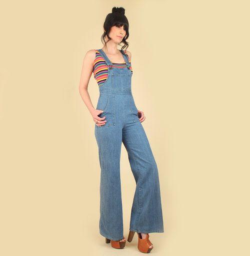 1e44d46bc13a  Hellhoundvintage  HHVDenimDaze vintage 70s denim jumpsuit hellhound  vintage hellhoundvintage jeans bib overalls light denim vintage clothing  fashion street ...