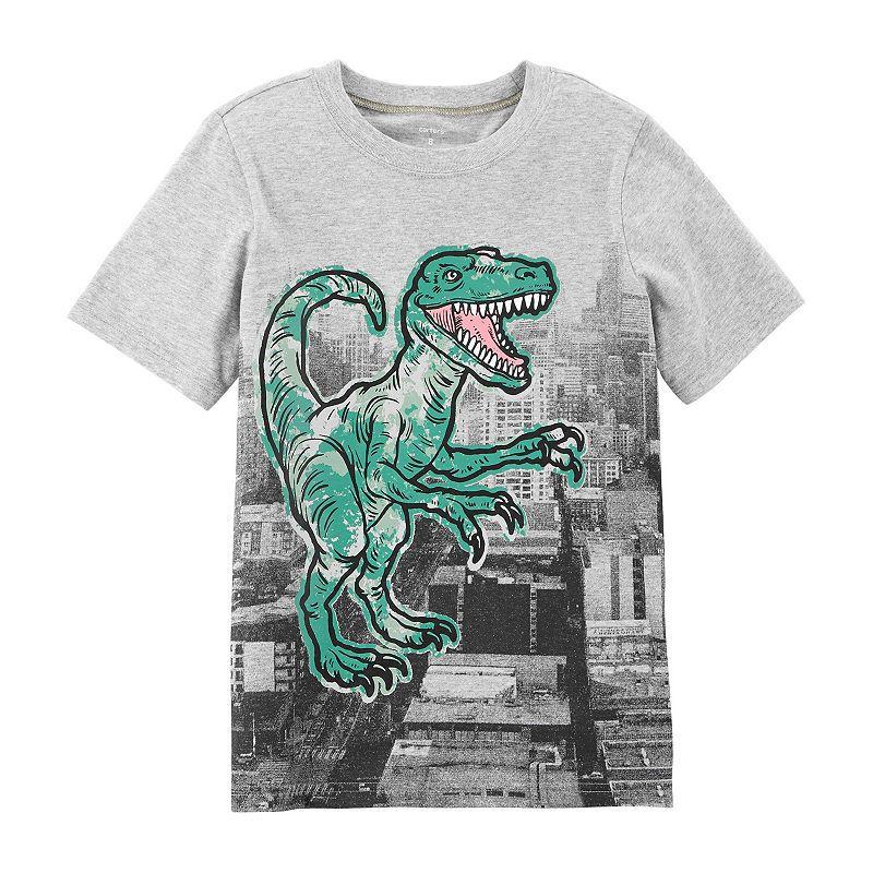 4553f33ed Carter's Graphic T-Shirt Boys. Carter's Boys Crew Neck Short Sleeve Graphic  T-Shirt Preschool / Big Kid ...