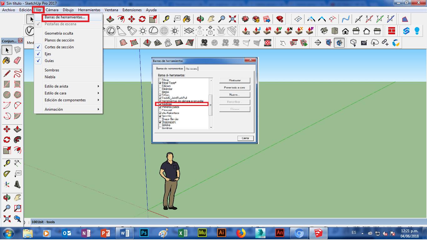 Escalar Un Plano En Sketchup Poner Map Screenshot Map Screenshots