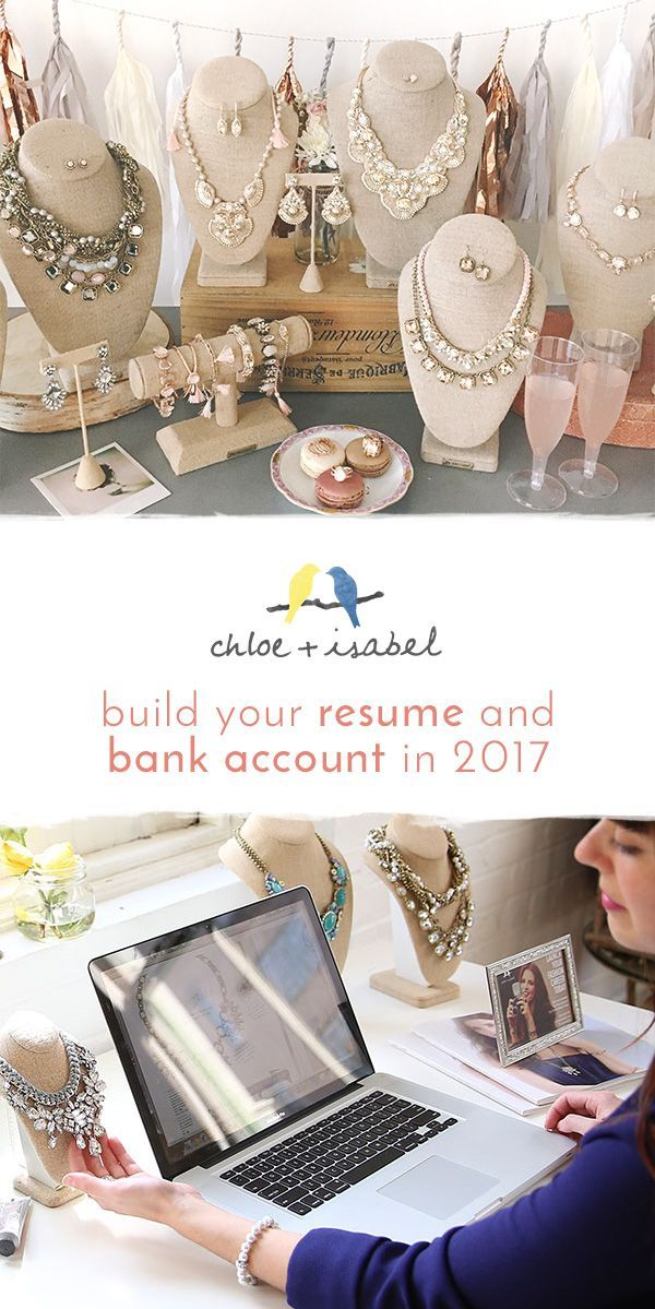Jewelry Sales Resume Classy Start Running Your Own #chloeandisabel Jewelry Business Through Our .