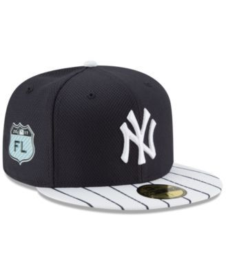 b788dead685 New Era New York Yankees Diamond Era Spring Training 59FIFTY Cap -  White Navy 7