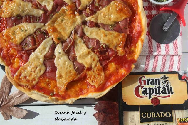 cocina facil y elaborada: pizza