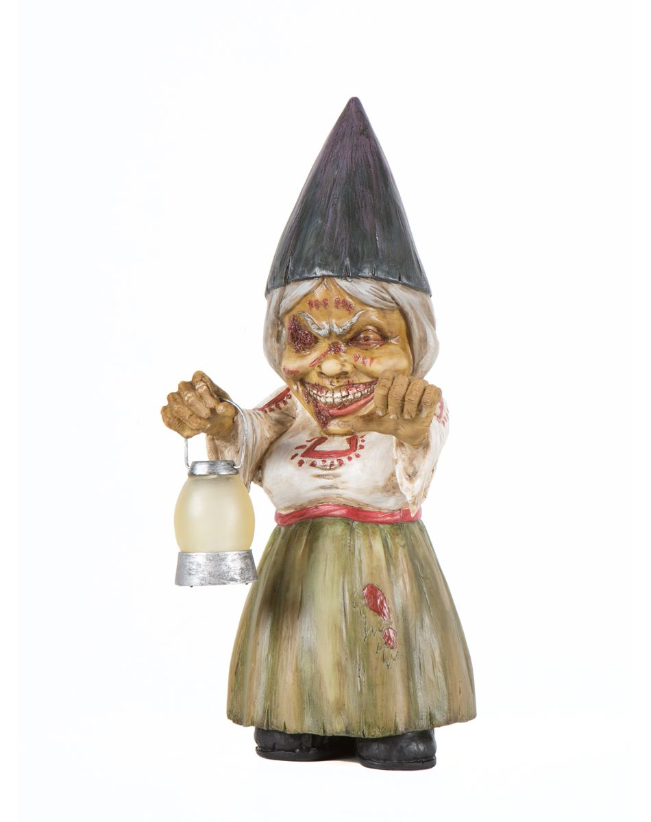 Female Zombie Gnome Exclusively At Spirit Halloween