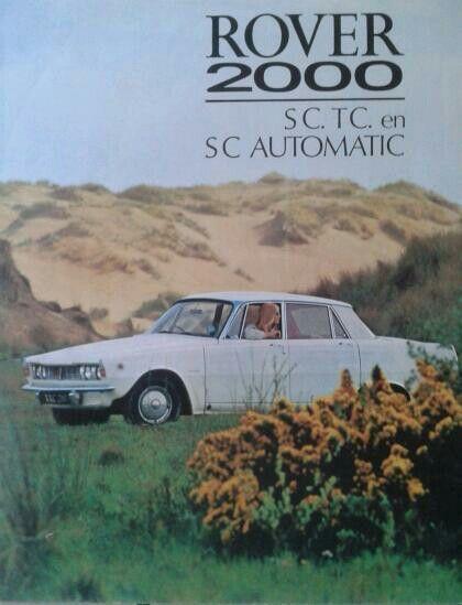 Rover 2000 SC/ TC brochure