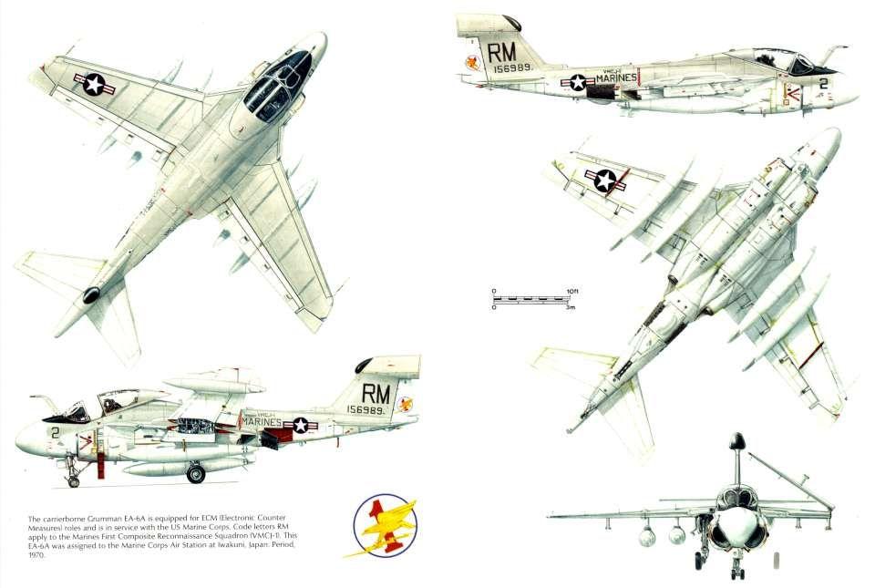 Grumman A-6 Intruder EA-6A