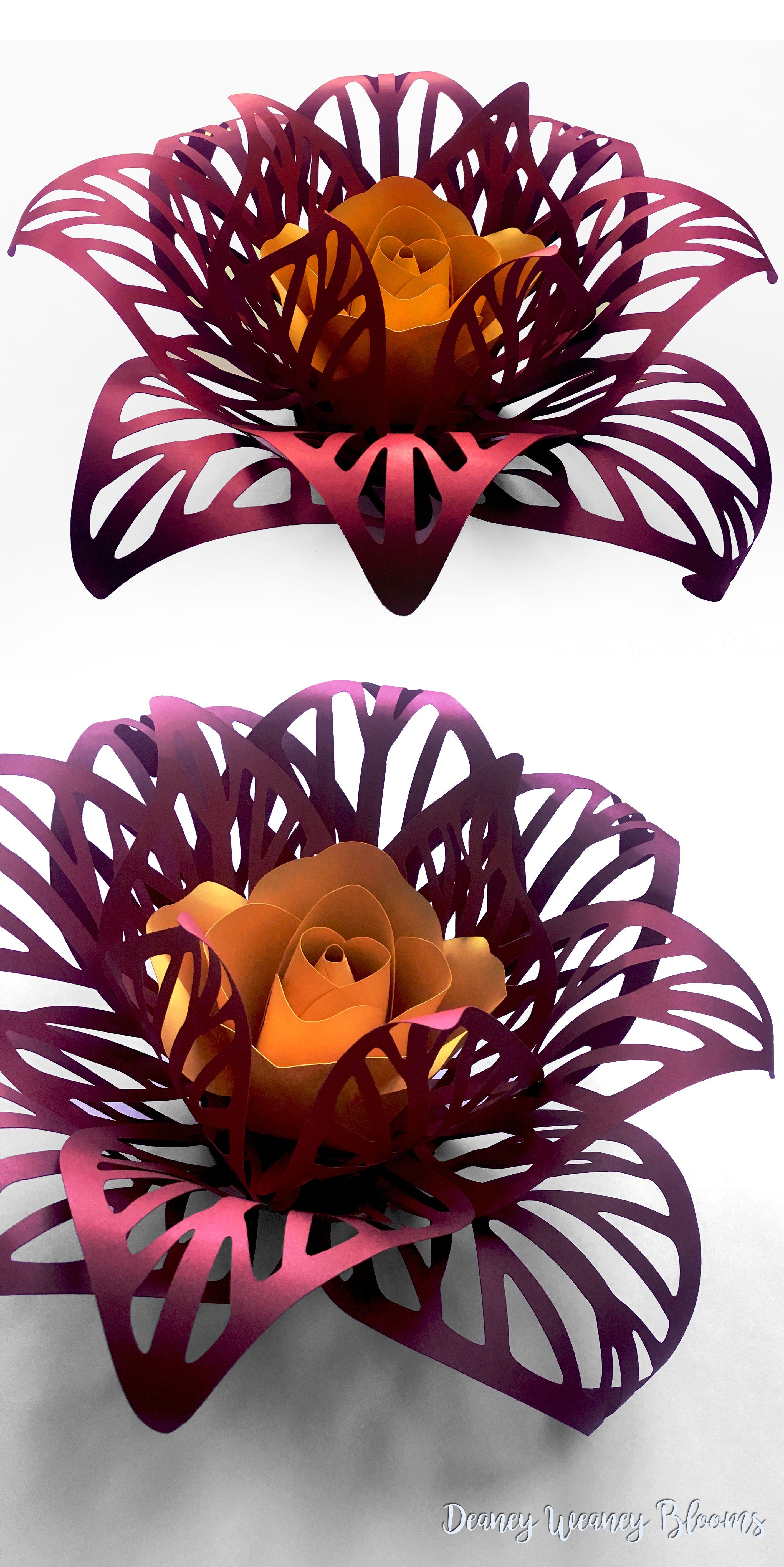 DIY Anastasia Flower backdrop paper flower perfect for wedding