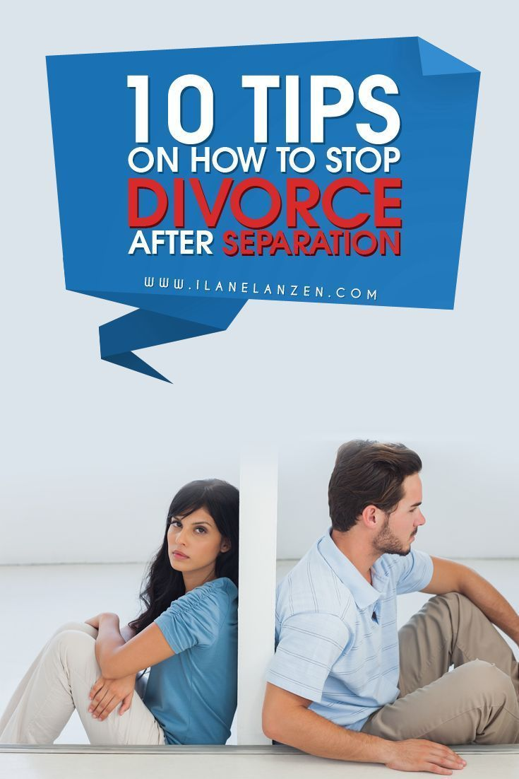 how to stop a separation in marriage
