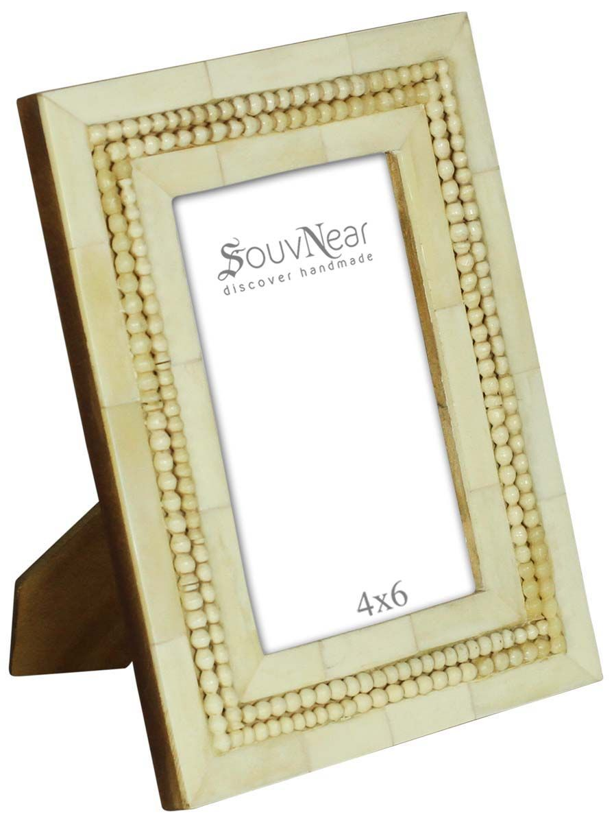Off-White 4x6 Inches Picture Frame in Bulk - Wholesale Handmade ...