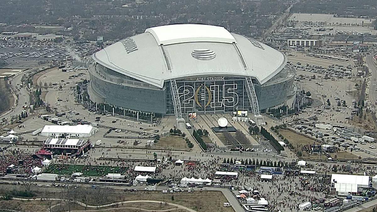 AT&T Stadium Aerial Dallas Cowboys NFL STADIUMS