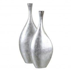 jarrn decorativo plata khaimah cm jarrones decorativos en nurybacom