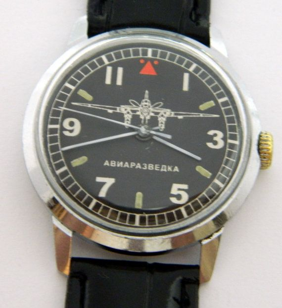 USSR Russian Watch Raketa 129 by irgioshop on Etsy, $49.99