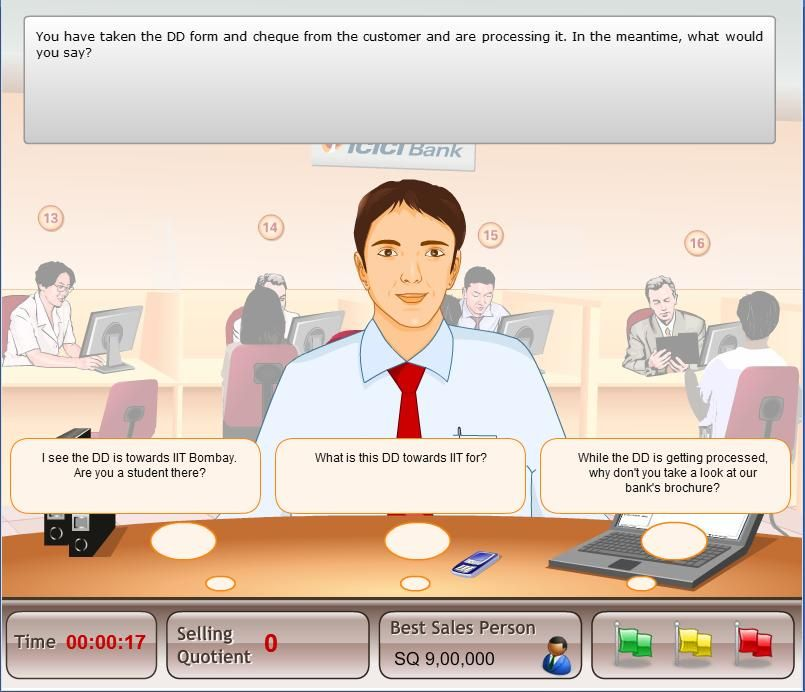 Game Bankers Selling Skill Builder  Full Demo At HttpWww