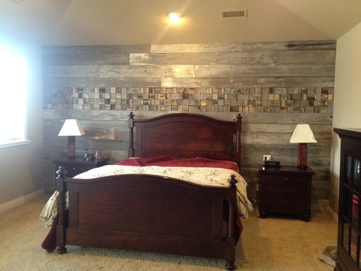 Wood Plank Wall Bedroom Here Is An Accent In A